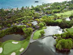 With sea views from every hole, it is one of 2 championship courses amid a complex built to celebrate Mauritius' trademark sandy crescents and crystal-clear waters. Take a look!