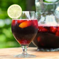 A fruity, alcohol-free drink made from just 3 items found at your grocery store. Pomegranate-Blueberry juice, + Wildly Nutritious Mixed fruit juice, + Sierra Mist soda = easy and yummy!