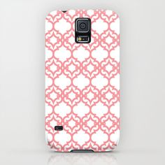 Lattice Stars in Coral iPhone & iPod Case