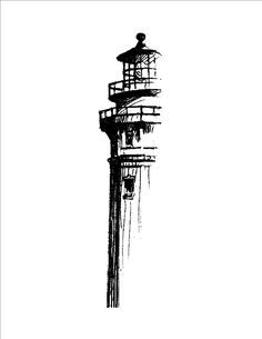 lighthouse tattoo drawing - Google Search