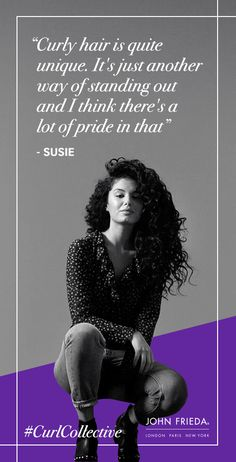 812ea1e2096f Curl Pride…  CurlCollective  JohnFriedaDreamCurls  curlyhair  curls   hairinspiration  hairgoals  confidence
