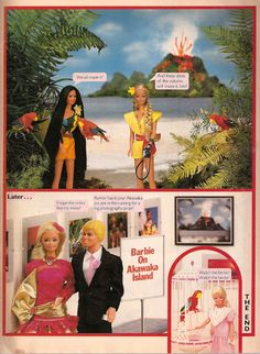 Barbie magazine, Summer 1986 (p. 4/4)