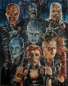 Hellraiser -The Sick Among The Pure Horror Movie Characters, Horror Movie Posters, Horror Movies, Slasher Movies, Horror Artwork, Horror Pictures, Horror Monsters, Horror Icons, Arte Horror