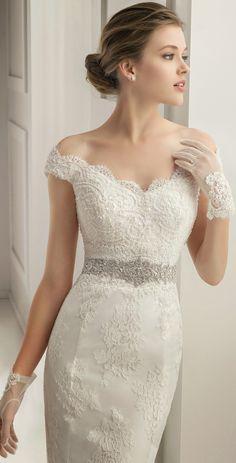 Decotes para cada silhueta: escolha o vestido de noiva mais adequado para si!