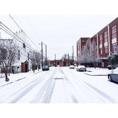 Atlanta - Snowpocalypse 2014 #winter #walkingdead