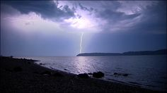 Thunderstorms are a rare sight in the Puget Sound area, but boy, did we get a show overnight!