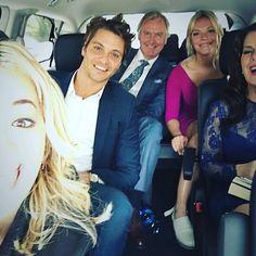 Cast of Fifty Shades Of Grey, Darker, Freed bts Luke Grimes Eloise Mumford Rita Ora Marcia Gay Harden. The Greys