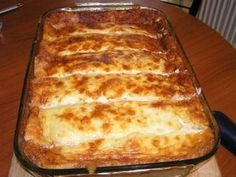 Cookbook Recipes, Cooking Recipes, Fun Cooking, Brunch Recipes, Lasagna, Easy Meals, Food And Drink, Appetizers, Sweets