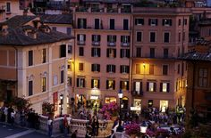 mostlyitaly:  View from Spanish Steps, (Rome, Italy) by MarianOne on Flickr.