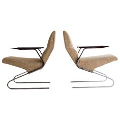 Georges Vanrijk Lounge Chairs for Beaufort | From a unique collection of antique and modern lounge chairs at https://www.1stdibs.com/furniture/seating/lounge-chairs/