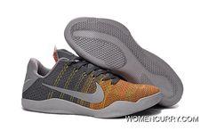 "timeless design beab4 8f398 Nike Kobe 11 Elite Low ""Cool Grey"" Mens Basketball Shoes New Style"