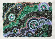 Another beaded project which would translate nicely into mosaic.