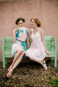 Vintage romance pastel bridesmaid dresses712 x 1068149KBwww.onewed.com