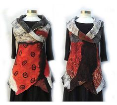 Hey, I found this really awesome Etsy listing at https://www.etsy.com/au/listing/267221278/nuno-felt-artist-vest-merino-wool-women