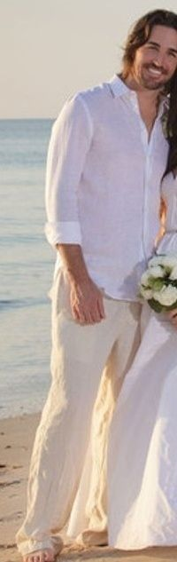 GROOM ATTIRE FOR BEACH WEDDINGS | Grooms beach wedding attire | E & J Wedding 4.12.14-Marathon, FL