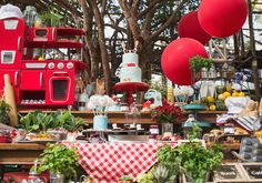 Ratatouille: decoração de festa de menino inspirada no filme da Disney