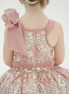 The Katy Flower Girl Dress - Chic Vintage Brides : Chic Vintage Brides