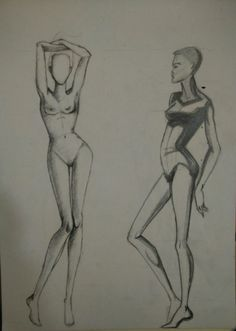Body positions sketches