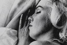 Marilyn Monroe photographed by Bert Stern, 1962.