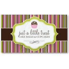 Diaper cake business cards business card templates pinterest cake ball business cards reheart Choice Image