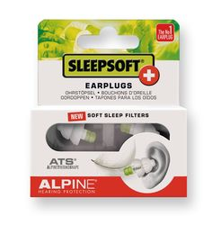 Amazon.com: Alpine SleepSoft + Earplugs (for Sleeping): Health & Personal Care -- Might this work for silencing a shared workspace?