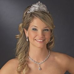 Antique Silver Tiara Comb for Quinceanera! See specialoccasionsforless.com for affordable quinceanera accessories!