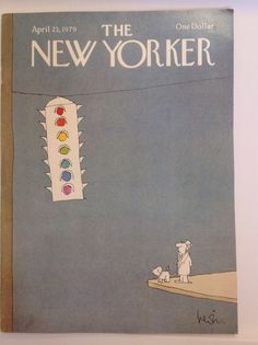 Vintage New Yorker Magazine April 23 1979 by JYRecycledTreasures, $15.00
