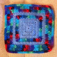 Ravelry: KAS Solid Granny Square pattern by Rona Malewit