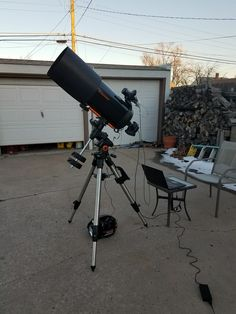 Since I always get questions about my telescope setup for astrophotography, I thought I would write a post about my telescope setup as well as show a picture of my astrophotography rig.