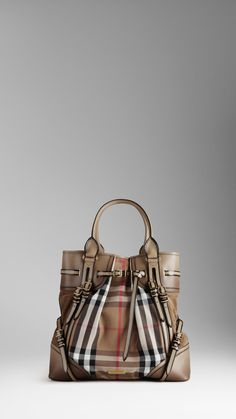 Burberry Large Bridle House Check Whipstitch Tote Bag 1 1 562x1000