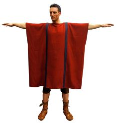 First century roman tunic, 1st century. Pattern based on the Mons Claudianus original