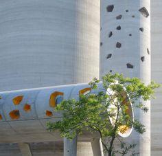 Amazing shape & great concept: Silos 13 / vib architecture