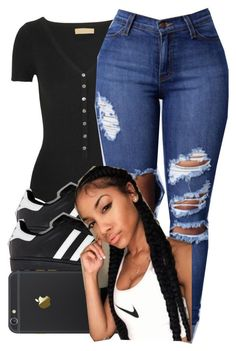 """""""Just Something Slight . """" by arkaycia ❤ liked on Polyvore featuring Michael Kors and adidas"""