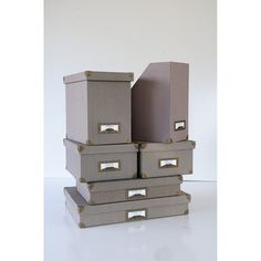 6 RESTORATION HARDWARE STORAGE Boxes Office by TheHeartTheHome