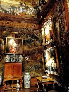 Chatsworth House interior ,UK