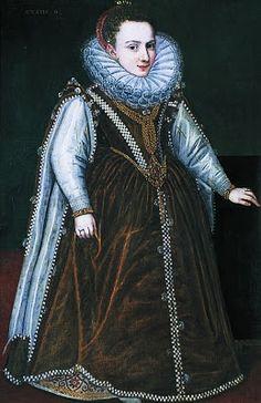 Sofonisba Anguissola (Italian, 1530-1625) ~ Portrait of Granddaughter of the Duke and Duchess of Parma