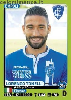 Calciatori 2014-2015: Fronte Figurina n. 112 Lorenzo Tonelli