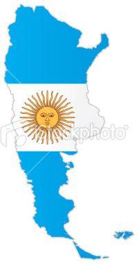 Mapa Político Argentina Mapas Y Banderas Vector Pinterest - Argentina map vector