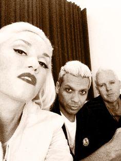 Gwen Stefani , Tony Kanal , Tom Dumont (No Doubt)