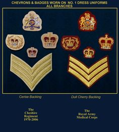 BADGE11 Military Ranks, Military Insignia, Military History, Military Uniforms, British Army Uniform, British Uniforms, Uniform Insignia, Army Patches, Modern Warfare