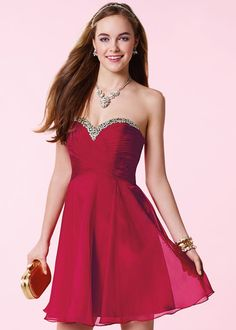 Asymmetrical Ruched Bodice Crystal Beaded Claret Homecoming Dress [Alyce 3642 Claret] – $136.00 : Short Homecoming Dresses For Party From www.homecoming2016.com
