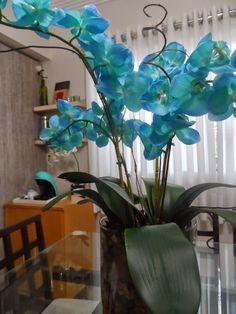 Aprenda a fazer arranjo de orquídeas artificiais! Veja o passo a passo aqui!   Casa,Quintal,Etc & Tal
