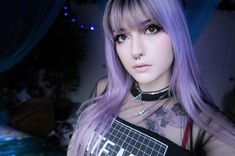 11 Pastel Goth Makeup and Outfits to Inspire You Leda Muir, Pastel Hair, Pastel Goth, Pastel Pink, Protective Styles, Locs, Afro, Natural Hair Styles, Long Hair Styles