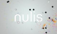 Nulis:  A puzzle game of attraction, repulsion, and chain reactions
