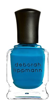 Deborah Lippmann Video Killed The Radio Star Nail Lacquer: Bombdiggity Blue (Crème)Blue doesn't get any brighter than this. Pop it on…