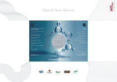 """31/12/2010 - Nouvel An """"Le cycle de l'eau"""" - Intérieur Design: C. Brochier  Réalisation: Teepee Bacardi, Nouvel An, Chart, Winter Games, Water Cycle, Gaming, Bacardi Cocktail"""