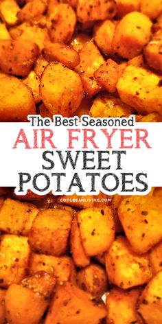 Flavorful spices season these cubed sweet potatoes that cook in a flash in the air fryer sweetpotatoes airfryer roastedsweetpotatoes sidedish easyairfryer Air Fryer Oven Recipes, Air Fry Recipes, Air Fryer Dinner Recipes, Side Dish Recipes, Cooking Recipes, Skillet Recipes, Side Dishes, Cooking Tools, Bon Appetit