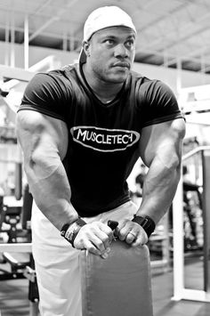 Phil Heath - mid set.