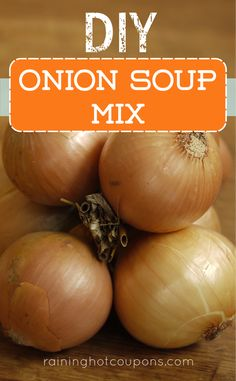 DIY Onion Soup Mix