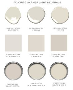 Warming Up Your Neutrals (elements of style) – Best Painting Neutral Paint Colors, Interior Paint Colors, Paint Colors For Home, House Colors, Grey Beige Paint, Off White Paint Colors, Beige Wall Colors, Entryway Paint Colors, Light Paint Colors
